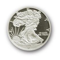 Robmar-u.s.a.1/10 De Onza De Plata 0,999-liberty,certificada