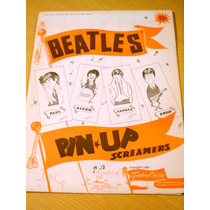 The Beatles Pin Up Screamers Gordon Currie Usa Original 1964