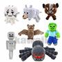 Muñecos Minecraft En Peluches Importados Nuevos! Modelos!!!