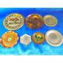 El Arcon Lote De 7 Antiguos Platos De Cobre Y Bronce 24059