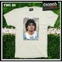 Remeras Argentina Seleccion Maradona Messi Futbol Mundial