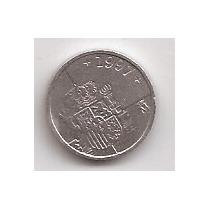 España Moneda De 1 Peseta Año 1997 !!