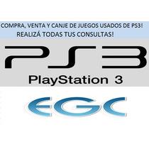 Compra, Venta Y Canje De Juegos Usados De Ps3!