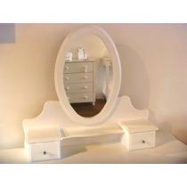 Mueble con espejo para maquillarse muebles para oficinas for Espejo para maquillarse