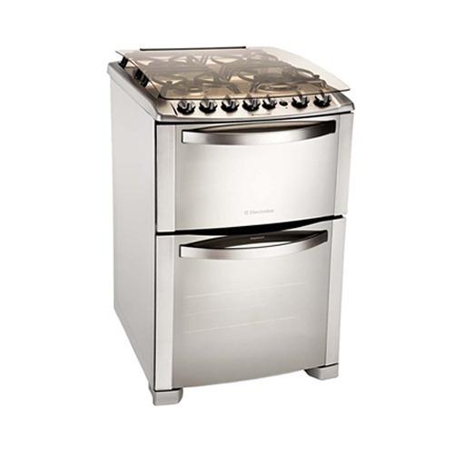 Cocina a gas electrolux 56dtx doble horno 4 hornallas for Cocinas a gas precios