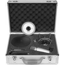 Samson C03u Pak Microfono Condenser Usb Araña Pop Cable +++