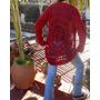 Tejidos Crochet Saco Circular Lana Unico Rojo Liquidacion
