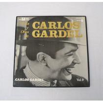 Vida Y Obra De Carlos Gardel Vol 9 Box 3 Lp Vinilo