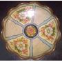Plato Decorativo Hondo - Pintado A Mano - Diseños Florales