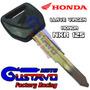 Llave Virgen Honda Nxr/xr 125 10/11/12 Orig Motogustavo
