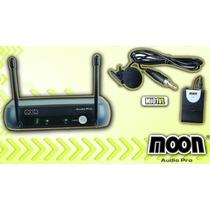 Microfono Inalambrico Moon Mi01vh Vhf Corbatero