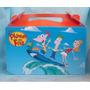30 Valijas Phineas Y Ferb Souvenirs Cumple