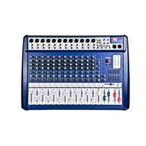 Consola Potenciada Proco Sb-8400fx 12 Canales Audiomasmusica