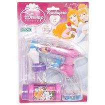 Burbujero Princesas Automatico Luz Disney De Ditoys