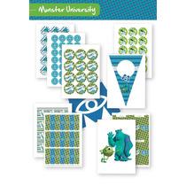 Combo De Monster University P/imprimir!
