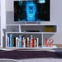 Espectacular Rack Tv Lcd Mueble Moderno Modulo S Melamina
