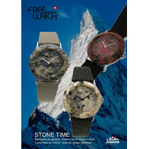 Reloj De Genuino Granito Stone Time By Jowissa Swiss
