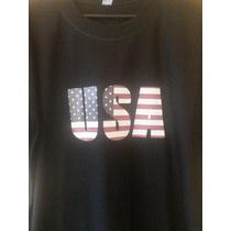 Remera Y Buzos Estampados Usa Eeuu Estados Unidos!