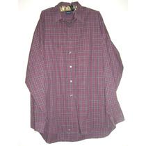 Camisa Hombre Manga Larga Talle Xl Muy Amplio Ver Medidas