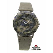 Reloj De Genuino Granito Stone Time By Jowissa Swiss