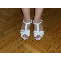 Antiguo Lote De Zapatos De Dama