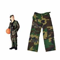 Pantalon Camuflado Niños
