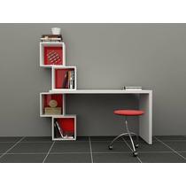Escritorio - Biblioteca - Organizador - Moderno - Mueble