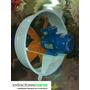 Extractores De Aire Axial Industrial 45 Cm De Diametro
