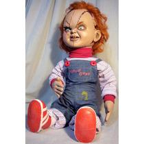 Muñeco Chucky De Látex Máscaras Disfraz Halloween