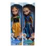 Frozen Muñecas Elsa Anna Musicales 40 Cm Articuladas Gigante