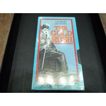 Charles Chaplins The Gold Rush 1924 Original C/ Blisters Vhs