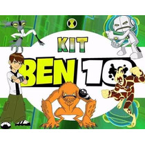 Kit Imprimible Ben 10 Incluye Candy Bar