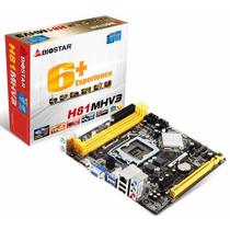 Motherboard Biostar H81 Mhv3 Socket 1150 Intel Hdmi Dmaker