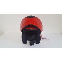 Casco Okn1 Rebatible Homologado.color Rojo.talle:l,xl Motos
