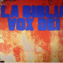 Vox Dei Biblia Lp 2vinilos Import.new Cerrado Orig. En Stock