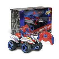 Auto Radio Control Cuatriciclo Paton Con Spiderman