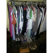 Lote 60 Prendas, Pantalones, Carteras, Sapatos, Remeras