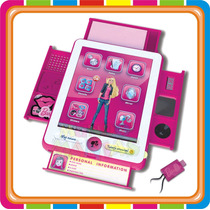Barbie My B-book Pad Interactivo Tablet Intek - Mundo Manias