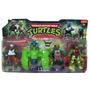 Tortugas Ninja Muñecos X 3 Con Lentes A Pilas C/luz Grandes