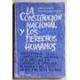La Constitución Y Los Derechos Humanos (ed. Eudeba 1986)
