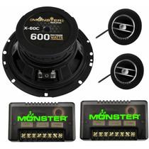 Componentes Monster 6.5 Pulgadas 85w Rms - 600w Max - X-60c