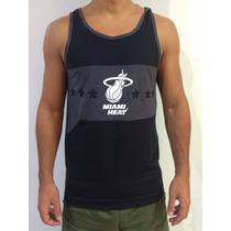 Musculosa Adidas Miami Heat Nba Original! Unica! Basquet Usa
