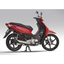 Honda Biz125 New Full 2016 Rojo 0km En Motorrader!!