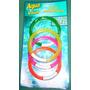 Sumergibles Didacticos Aros Plasticos Blister X 4 V/colores