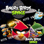 Kit Imprimible Angry Birds Space Tarjetas, Cumples Y Mas