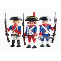 Playmobil Soldados Franceses 6436 + 4 Años Nuevos