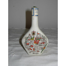 Antigua Botellita De Coleccion Porcelana Escorial Grum