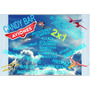 Kit Imprimible Candy Bar Aviones! 2x1 Imperdible!