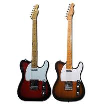 Guitarra Sx Ftl 50 Telecaster 2ts/3ts Con Funda