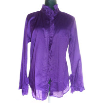 Espectacular Camisa Importada Usa Color Violeta Small Nueva!